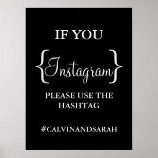 ポスター- Instagramメッセージ ポスター