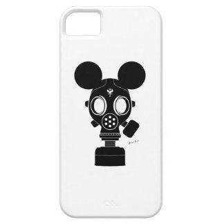 ポストの世界Zuno: ガスマスク01 iPhone SE/5/5s ケース