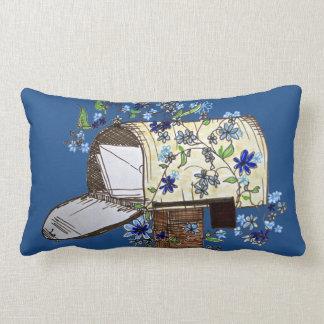 ポストの芸術の濃紺のアクセントの枕 ランバークッション