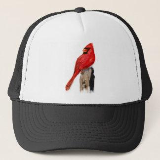 ポストの(鳥)ショウジョウコウカンチョウ キャップ