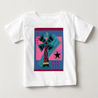 ポストモダンのやし鳥 ベビーTシャツ