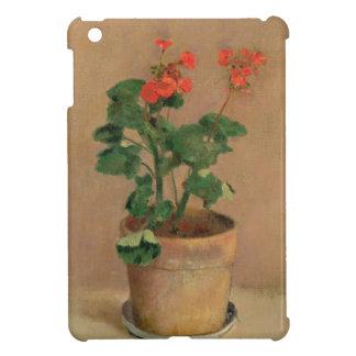 ポットのゼラニウム、c.1905 (キャンバスの油) iPad miniケース