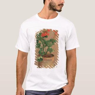ポットのゼラニウム、c.1905 (キャンバスの油) tシャツ