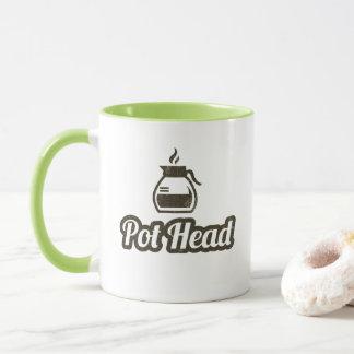 ポットのヘッドコーヒー・マグ マグカップ