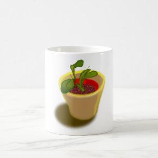 ポット植物のマグ コーヒーマグカップ