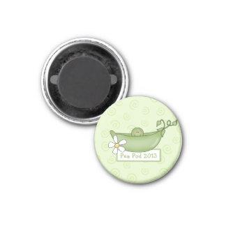 ポッドのベビーシャワーの磁石のエンドウ豆 マグネット
