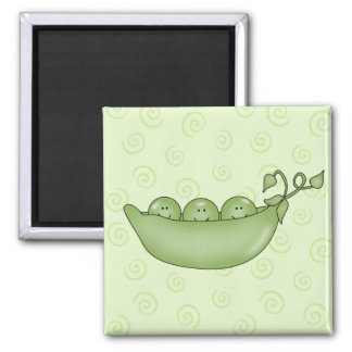 ポッドの磁石のカスタマイズ可能な3個のエンドウ豆 マグネット