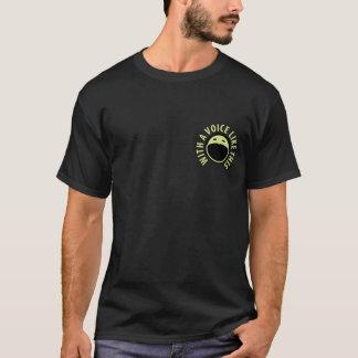 ポッドキャストのギャラリーのTシャツ(黒) Tシャツ