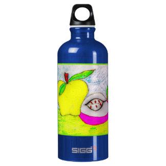 ポップアートのりんご6LアルミニウムSIGGの水差し SIGG トラベラー 0.6L ウォーターボトル