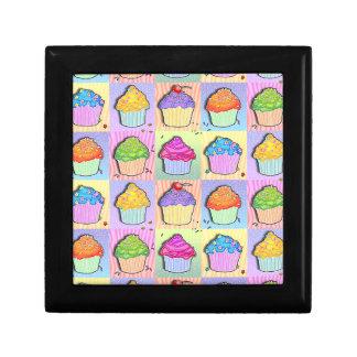 ポップアートのカップケーキのギフト用の箱 ギフトボックス
