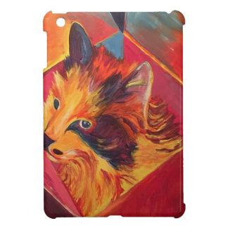 ポップアートのカラフルCAT iPad MINIカバー