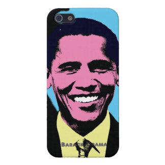 ポップアートのスタイルのバラック・オバマ iPhone 5 カバー