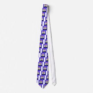 ポップアートのスタイルフィアット500 ネクタイ