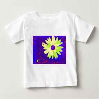 ポップアートのデイジー ベビーTシャツ