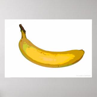 ポップアートのバナナのプリント ポスター