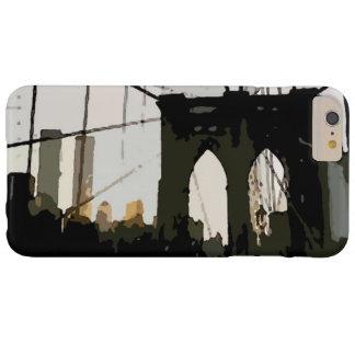 ポップアートのブルックリン橋のiPhone6ケース Barely There iPhone 6 Plus ケース