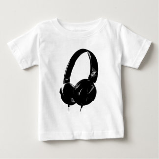 ポップアートのヘッドホーン ベビーTシャツ