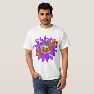ポップアートの強打 Tシャツ