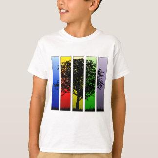 ポップアートの木 Tシャツ