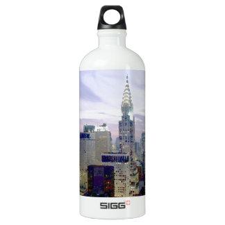 ポップアートの油性ペイントの効果ニューヨーク ウォーターボトル