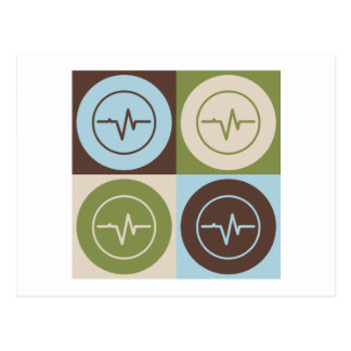 ポップアートの生物医学的なエンジニアリング ポストカード