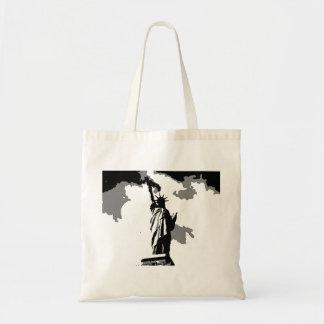 ポップアートの自由の女神 トートバッグ