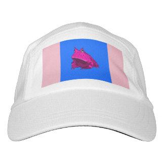 ポップアートの角質カエルの帽子 ヘッドスウェットハット