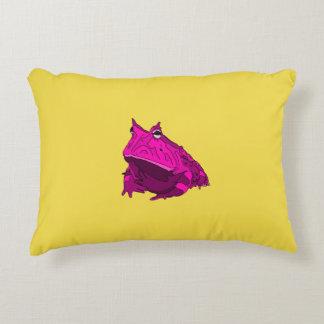 ポップアートの角質カエルの枕 アクセントクッション