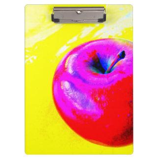 ポップアートのAppleのクリップボード クリップボード