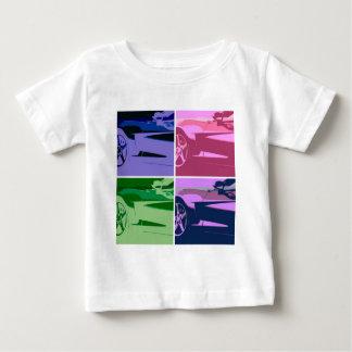 ポップアートコルベット ベビーTシャツ