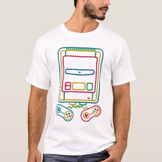 ポップアート スーパーファミコン Tシャツ