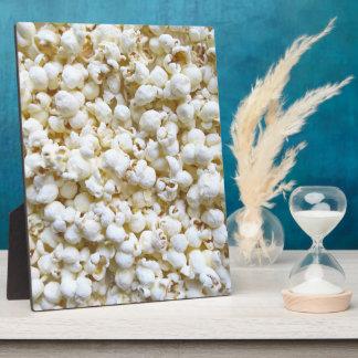 ポップコーンの質の写真撮影の明るい装飾 フォトプラーク