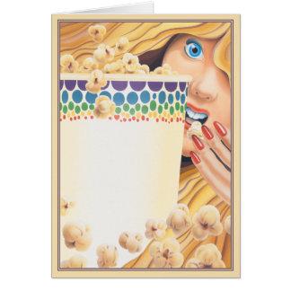 ポップコーンの© カード