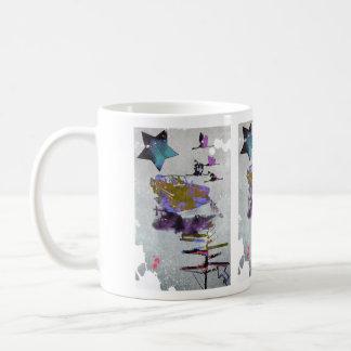 ポップ・アートのな行先 コーヒーマグカップ
