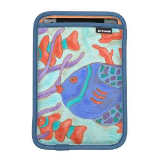 ポップ・アートのな魚 iPad MINIスリーブ