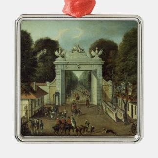 ポツダム、c.1735の狩猟小屋 メタルオーナメント