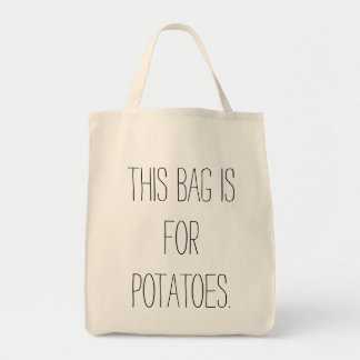 ポテトのバッグ トートバッグ
