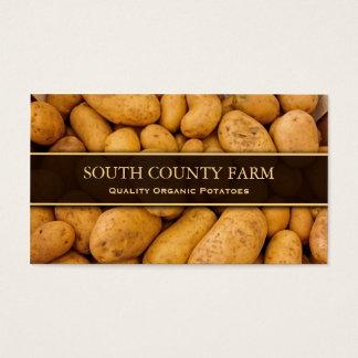 ポテトの写真-ポテトの農場-名刺 名刺