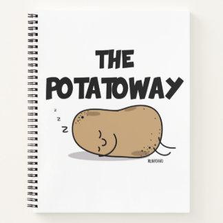 ポテトの方法ノート ノートブック