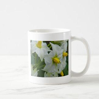 ポテトの花 コーヒーマグカップ