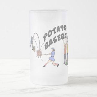ポテトの野球 フロストグラスビールジョッキ