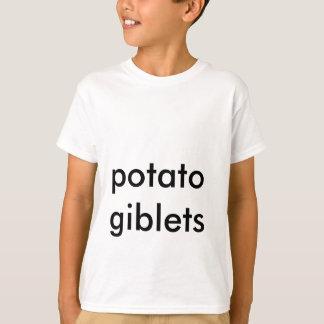ポテトのgiblets tシャツ