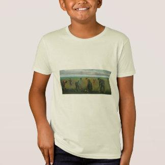 ポテトを植えているゴッホの小作人か農家 Tシャツ