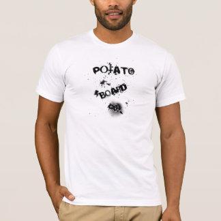 ポテト板ワイシャツ Tシャツ