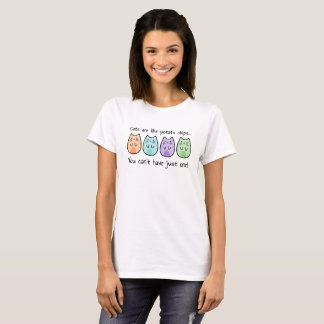 ポテト猫愛Tシャツ Tシャツ