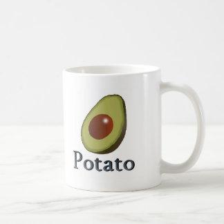 ポテト コーヒーマグカップ