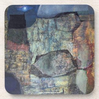 ポトシボリビアの抽象的な景色 コースター
