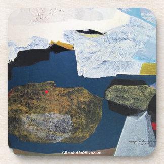 ポトシボリビア22.6x33.9の抽象的な景色 コースター