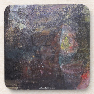 ポトシボリビア30.3x23.6の抽象的な景色 コースター