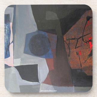 ポトシボリビア30.9x20.3の抽象的な景色 コースター